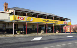 Gooloogong Hotel Australia. GOOLOOGONG, AUSTRALIA  SEPTEMBER 19, 2015;  The Gooloogong Hotel, located in Gooloogong a rural town  situated on the Lachlan Valley Royalty Free Stock Photo