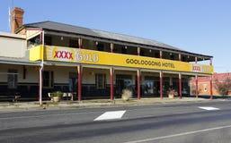 Gooloogong hotell Australien Royaltyfri Foto