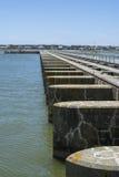 Goolwa Barrage & Lock, South Australia Stock Photos