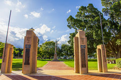 Goondiwindi War Memorial Park. Australia Royalty Free Stock Photo