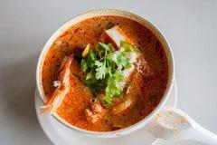 goong πικάντικο αρσενικό (ζώο) σούπας γαρίδων yum στοκ εικόνες με δικαίωμα ελεύθερης χρήσης