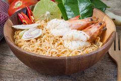 Goong de Tom Yum Photographie stock