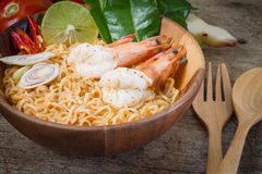 Goong de Tom Yum Photo stock
