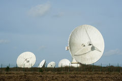 Goonhilly Earth Station Stock Images