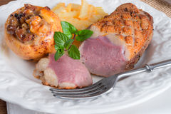 Goose breast fillet Royalty Free Stock Photography
