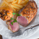 Goose breast fillet Royalty Free Stock Images