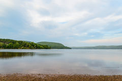 Goose Cove along the Cabot Trail (Cape Breton, Nova Scotia, Canada) royalty free stock images