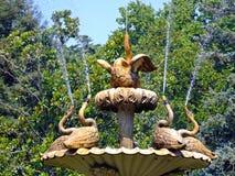 Goose fountain Stock Photography