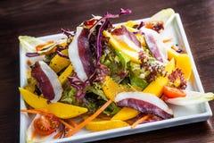 Goose ham salad Stock Photography