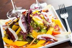 Goose ham salad Stock Image