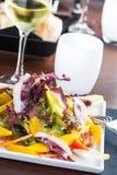 Goose ham salad Stock Photos