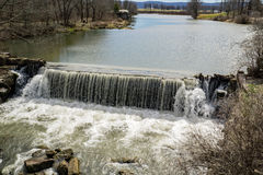 Goose Mill Dam. Located in the beautiful valley of Burkes Garden, Tazewell County, Virginia, USA Royalty Free Stock Photography