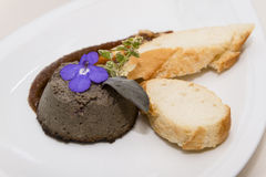 Goose pate Royalty Free Stock Photography