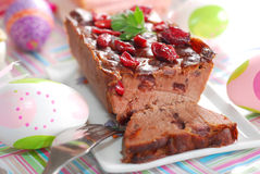 Goose Pate With Cranberries Royalty Free Stock Photo