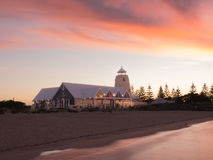 The Goose restaurant at Busselton Jetty, Western Australia Royalty Free Stock Photo