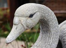 Goose sculpture Stock Images