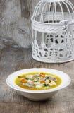 Goose soup Royalty Free Stock Photo