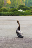 Goose statue Royalty Free Stock Photos
