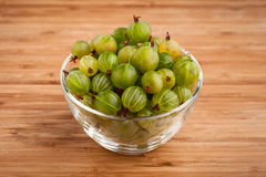 Gooseberries in bowl Royalty Free Stock Photos