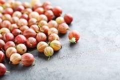 Gooseberries fruit Stock Images