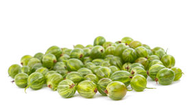 Gooseberries isolated Stock Image