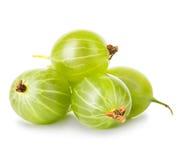 Gooseberries isolated on white Stock Photo