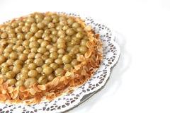 Gooseberry with almond edge Stock Photography