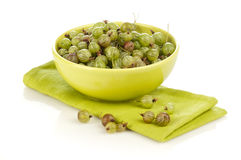 Gooseberry background Royalty Free Stock Photos