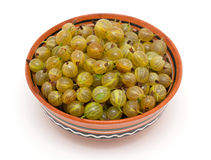 Gooseberry in a bowl Stock Photography
