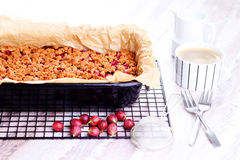 Gooseberry cake Stock Photo