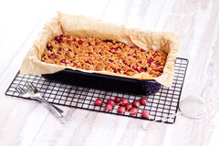 Gooseberry cake Royalty Free Stock Photo