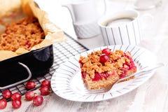 Gooseberry cake Stock Image