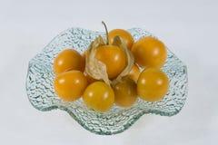 Gooseberry de cabo (physalis) Fotografia de Stock Royalty Free