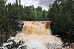Gooseberry Falls Lower Falls Stock Images
