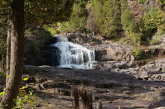 Gooseberry Falls on the North Shore of Minnesota Stock Images