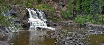Gooseberry Falls Panorama. Gooseberry Falls Minnesota panoramic image Stock Photos
