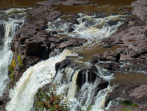 Gooseberry Falls Royalty Free Stock Photography