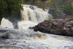 GOOSEBERRY FALLS SCENES LAKE SUPERIOR MN. GOOSEBERRY FALLS Royalty Free Stock Photos