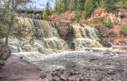Gooseberry Falls State Park Stock Image