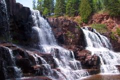 Gooseberry Falls Royalty Free Stock Photography