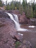 Gooseberry Falls Royalty Free Stock Images