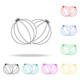 Gooseberry icon. Element firefighters multi colored icons for mobile concept and web apps. Thin line icon for website design and d. Evelopment, app development Royalty Free Stock Photos