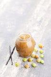 Gooseberry jam Royalty Free Stock Photo