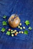 Gooseberry jam Stock Photos