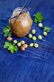 Gooseberry jam Royalty Free Stock Image