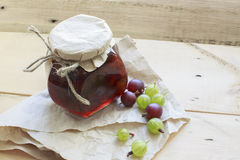 Gooseberry Jam Royalty Free Stock Images
