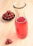 Gooseberry juice Royalty Free Stock Image