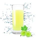 Gooseberry juice Stock Photo
