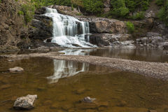 Gooseberry Lower Falls Royalty Free Stock Photos