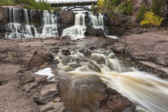 Gooseberry Middle Falls In Autumn Royalty Free Stock Photo